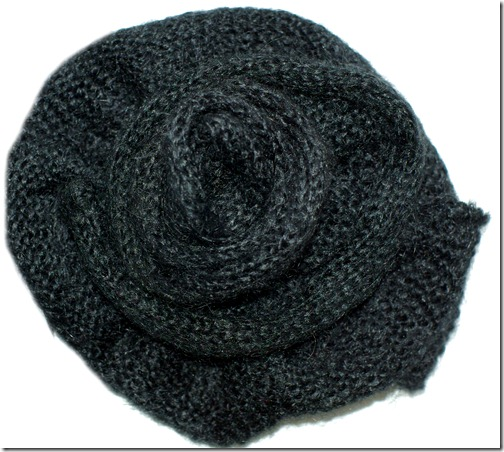 wool brooch from Solar A/W 2009 collection
