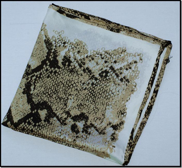 silk scarf from Passigatti