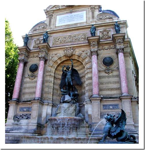 Najwyższa fontanna w Paryżu